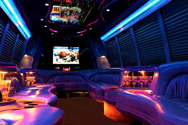 18 passenger party bus rental boston