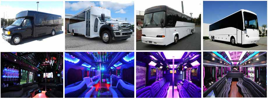 Wedding Transportation Party buses Grand boston